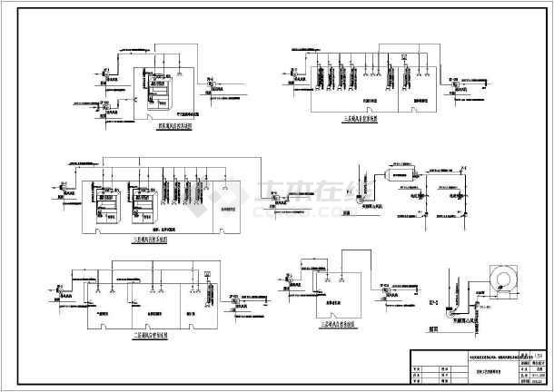 某四层标准楼实验室自控电气设计施工图纸-图二