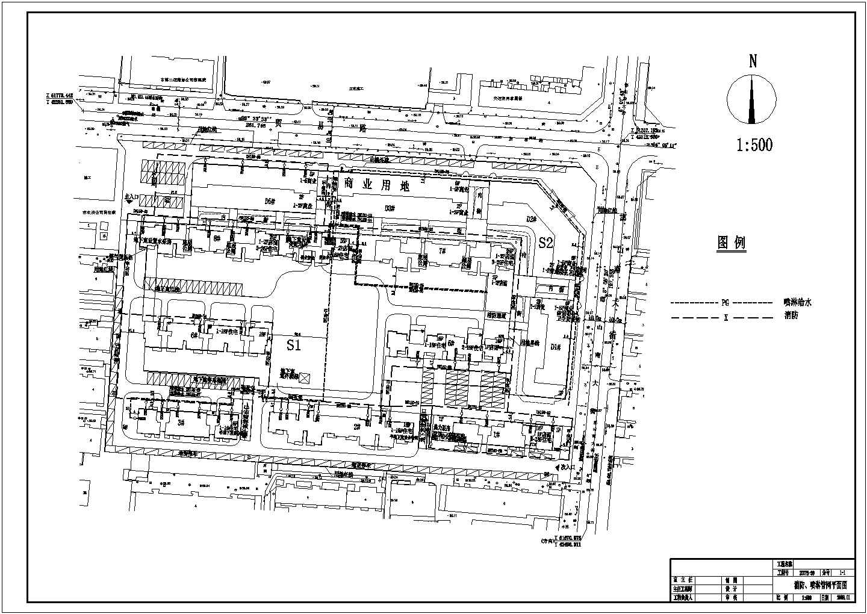 邯郸市某小区室外管网工程图纸图片3