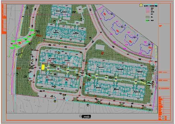 [湖北]欧式园林高端品质别墅住区施工图-图1