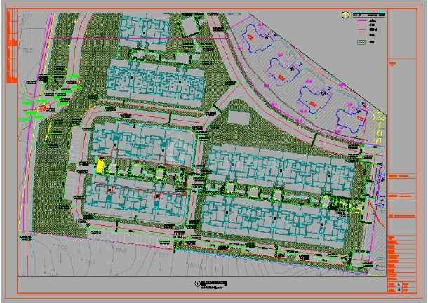 [湖北]欧式园林高端品质别墅住区施工图-图3