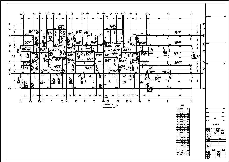 [江苏]某十八层钢筋混凝土剪力墙结构住宅楼结构施工图图片3