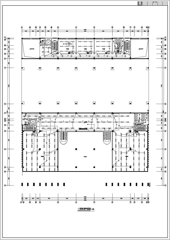 某四层学校图书馆电气设计施工图纸图片3