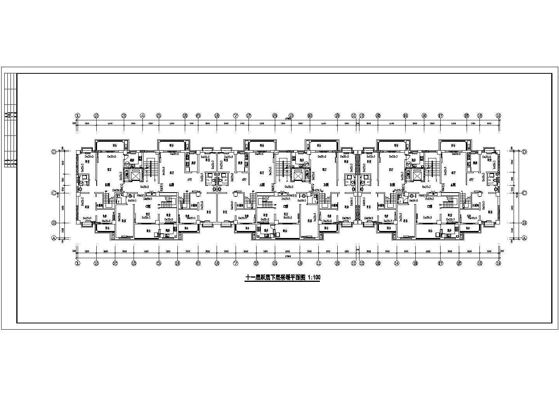 某11325�O十二层商住楼采暖图(含设计说明)图片1