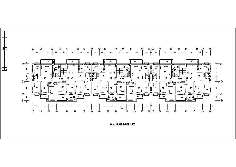 某11325�O十二层商住楼采暖图(含设计说明)图片2