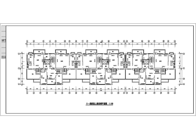某11325�O十二层商住楼采暖图(含设计说明)图片3