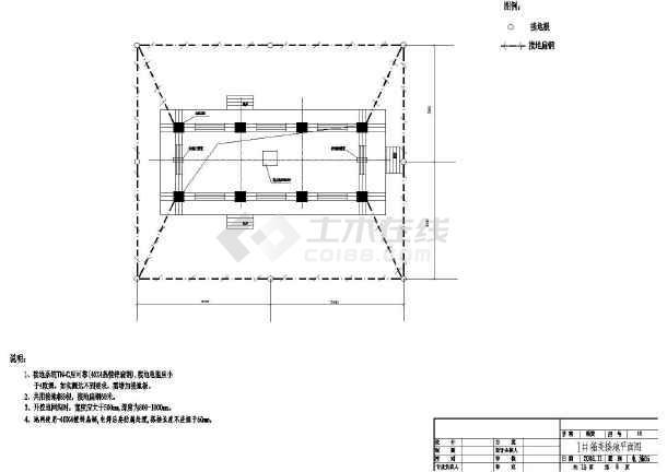 某箱式变电站电气施工图-图1