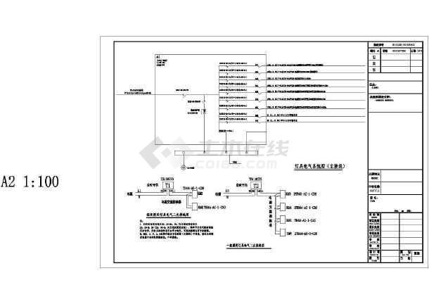 居住小区园林景观水电设计施工图纸-图二