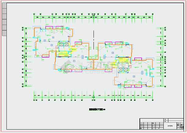 点击查看[广东]大型二十四层多栋商住楼全套给排水施工图(一类地下车库)第2张大图