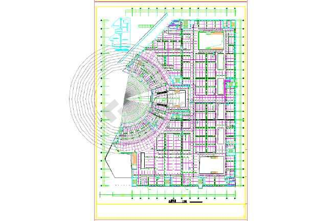 70008平方米大型SHOPMALL给排水设计图-图二