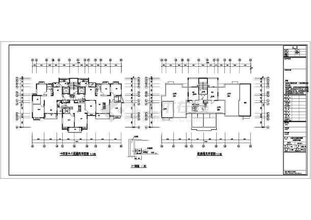 点击查看[包头]6833.37㎡十七层住宅给排水施工图第2张大图