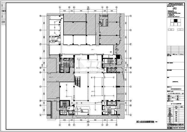 [江苏]23448㎡十层文化广场美术馆电气施工图(甲级院最新设计)-图一