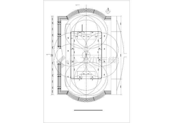 某大型体育场给排水设计图纸-图3