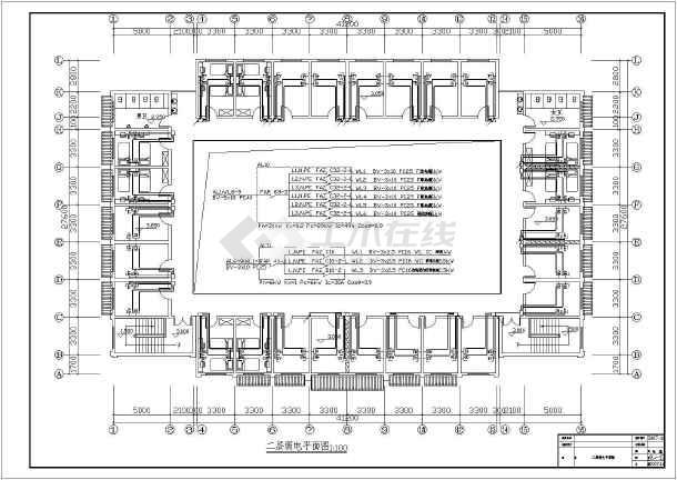 某1360㎡地上两层商住楼电气施工图(含车库)-图一