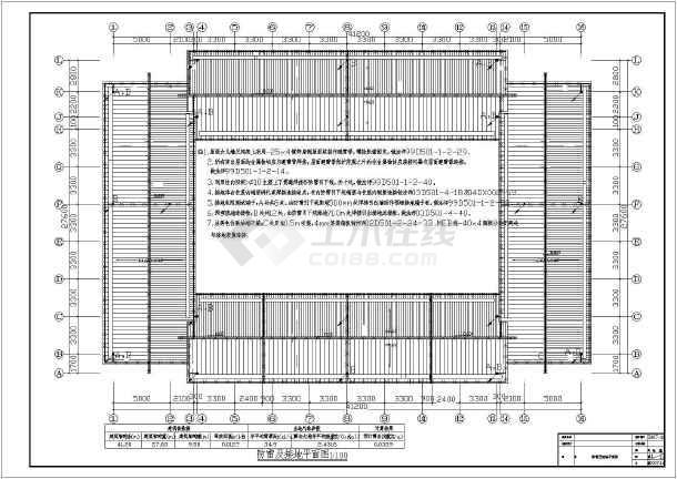 某1360㎡地上两层商住楼电气施工图(含车库)-图2