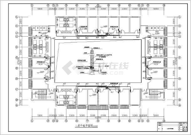 某1360㎡地上两层商住楼电气施工图(含车库)-图3