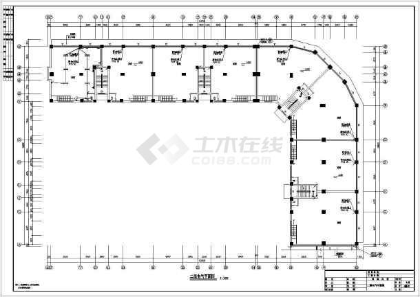 某地上六层商住楼电气图纸(三级负荷,第三类防雷)-图二
