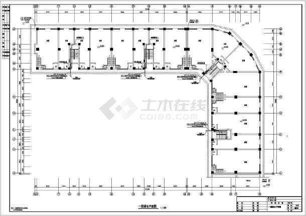 某地上六层商住楼电气图纸(三级负荷,第三类防雷)-图3