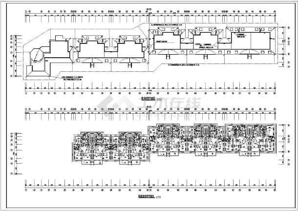 某五层商住楼电气施工图(三级负荷)-图一