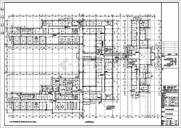 [内蒙古]17975.96㎡三层精神康复医院门诊医技病房楼电气全套施工图含计算书-图2