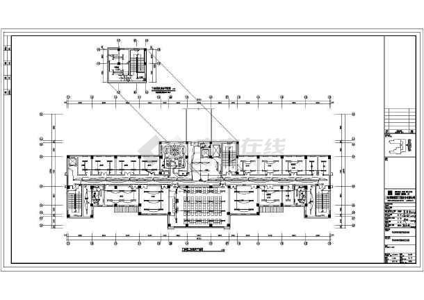 [内蒙古]17975.96㎡三层精神康复医院门诊医技病房楼电气全套施工图含计算书-图3