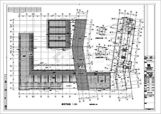 点击查看[上海]某学院楼及教学楼电气施工图纸(含动力、照明及变电所图纸)第1张大图