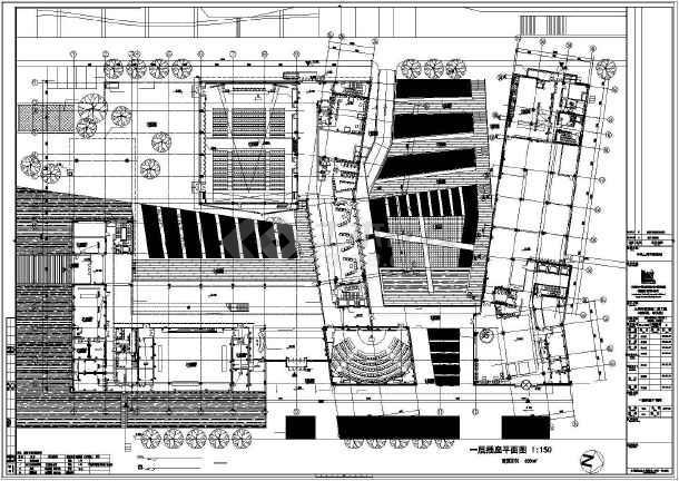 [上海]某学院楼及教学楼电气施工图纸(含动力、照明及变电所图纸)-图2