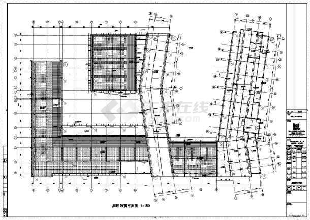[上海]某学院楼及教学楼电气施工图纸(含动力、照明及变电所图纸)-图3