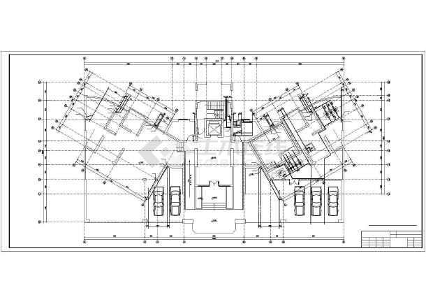 某11层塔式住宅给排水设计图-图一