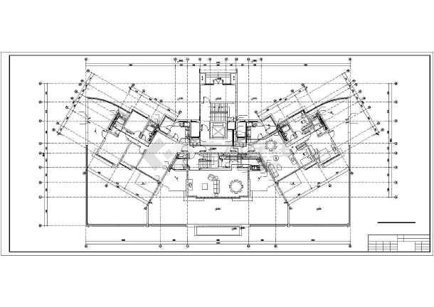 某11层塔式住宅给排水设计图-图二