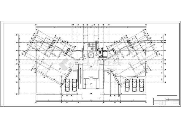 某11层塔式住宅给排水设计图-图2