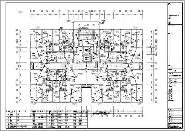 知名房产小区一类高层住宅楼全套电气施工图纸(机房工程)-图一