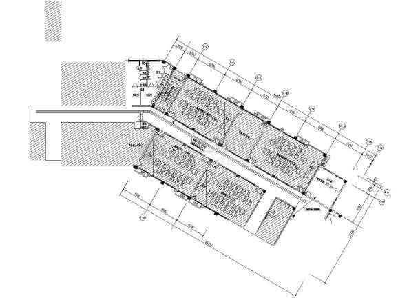 某中学报告厅、会议室等电气施工图-图1