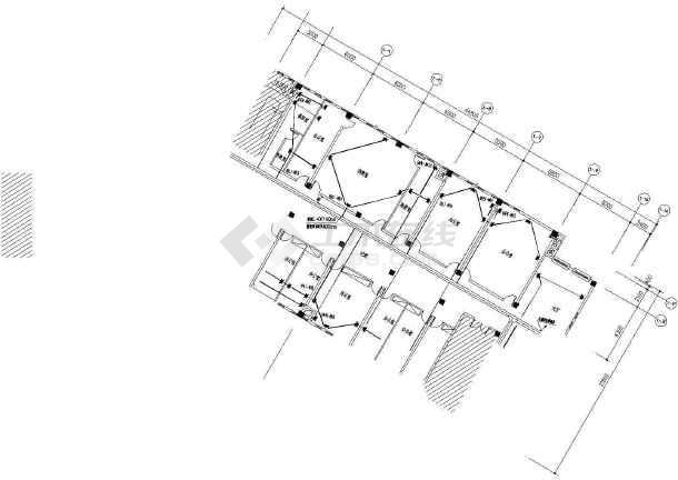 某中学报告厅、会议室等电气施工图-图2