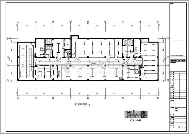 点击查看[山东]20150㎡九层三甲医院综合建筑电气设计全套图纸92张第1张大图