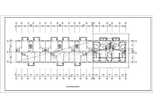 点击查看某6层单元式住宅电气全套图纸第2张大图