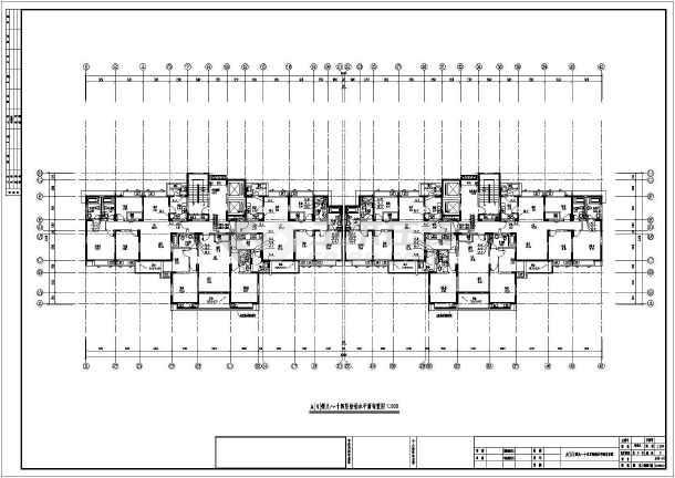 点击查看上海某地上十六层住宅给排水设计图(含车库)第1张大图