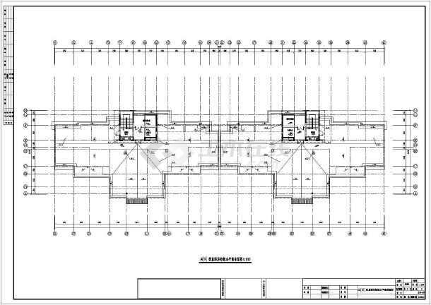 点击查看上海某地上十六层住宅给排水设计图(含车库)第2张大图