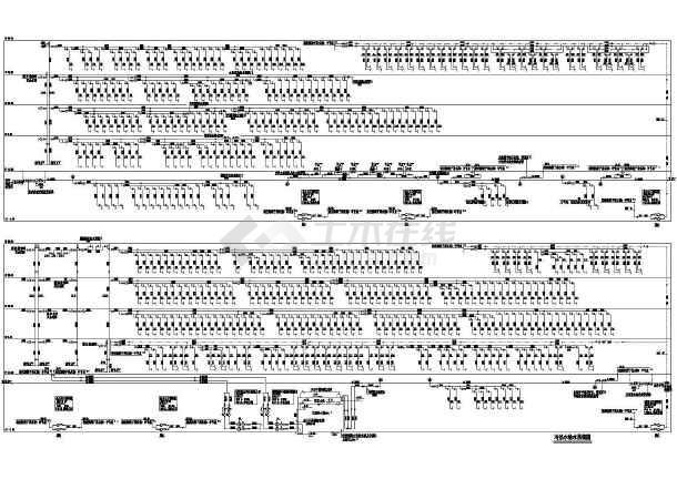 点击查看[广东]知名14万平六层医院综合楼扩建给排水消防施工图(大空间智能灭火)第1张大图