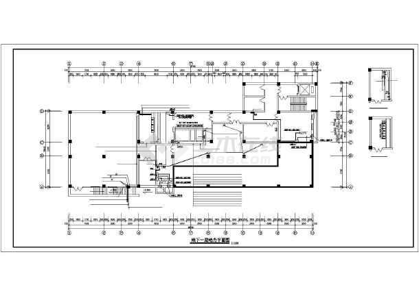 某八层医院电气配电设计图-图2