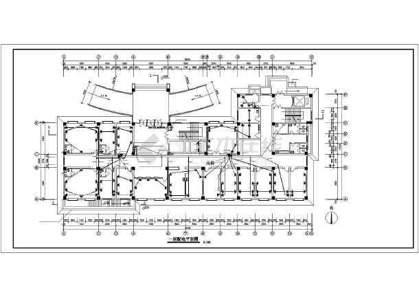 某八层医院电气配电设计图-图3