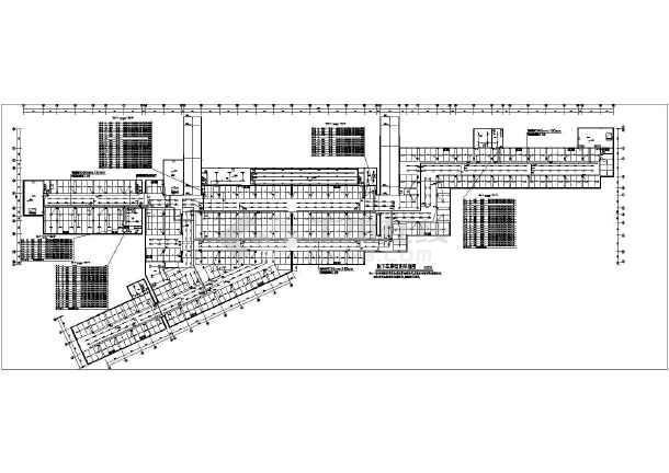 某9713㎡地下一层地下车库电气施工图-图一