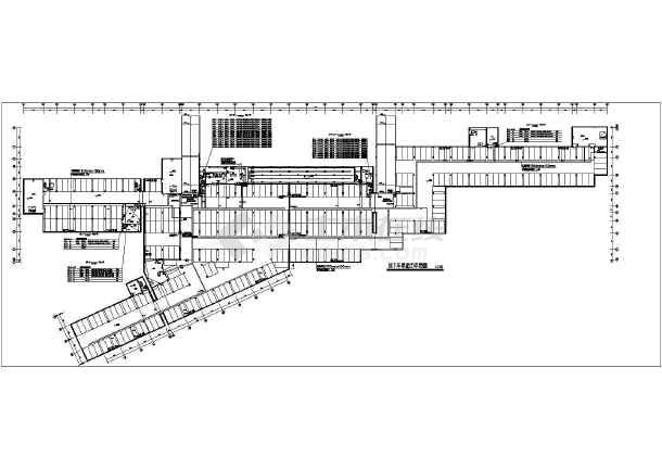 某9713㎡地下一层地下车库电气施工图-图二