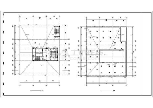 点击查看某19888㎡十层图书馆全套给排水施工图第1张大图