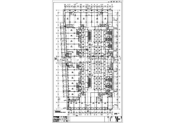 东北某十八层综合大厦(带换热站)-住宅楼梯放大图-图2