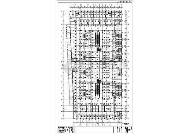 东北某十八层综合大厦(带换热站)-住宅楼梯放大图-图3