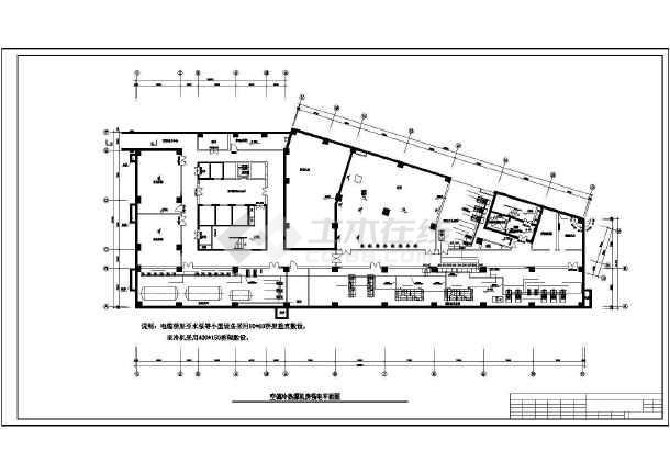 某医院地源热泵机房电气图纸-图二