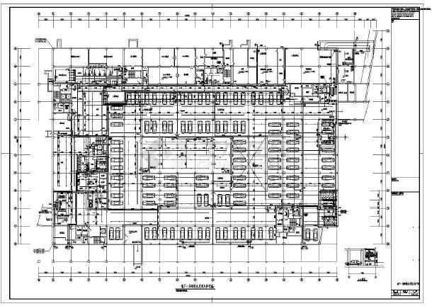 某市7万平图书馆新馆给排水施工图(高48米)-图2