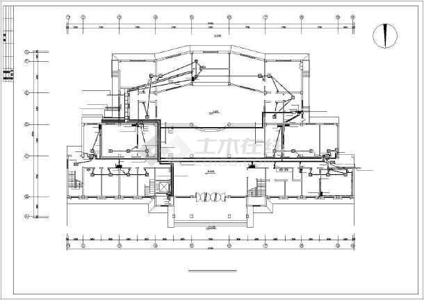 某六层医院综合楼电气图纸-图1
