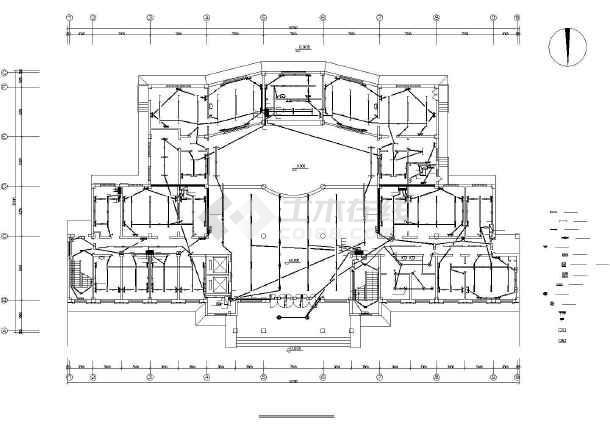 某六层医院综合楼电气图纸-图2