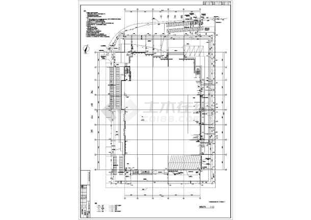 某地上二十一层给排水消防施工图(一类高层)-图一